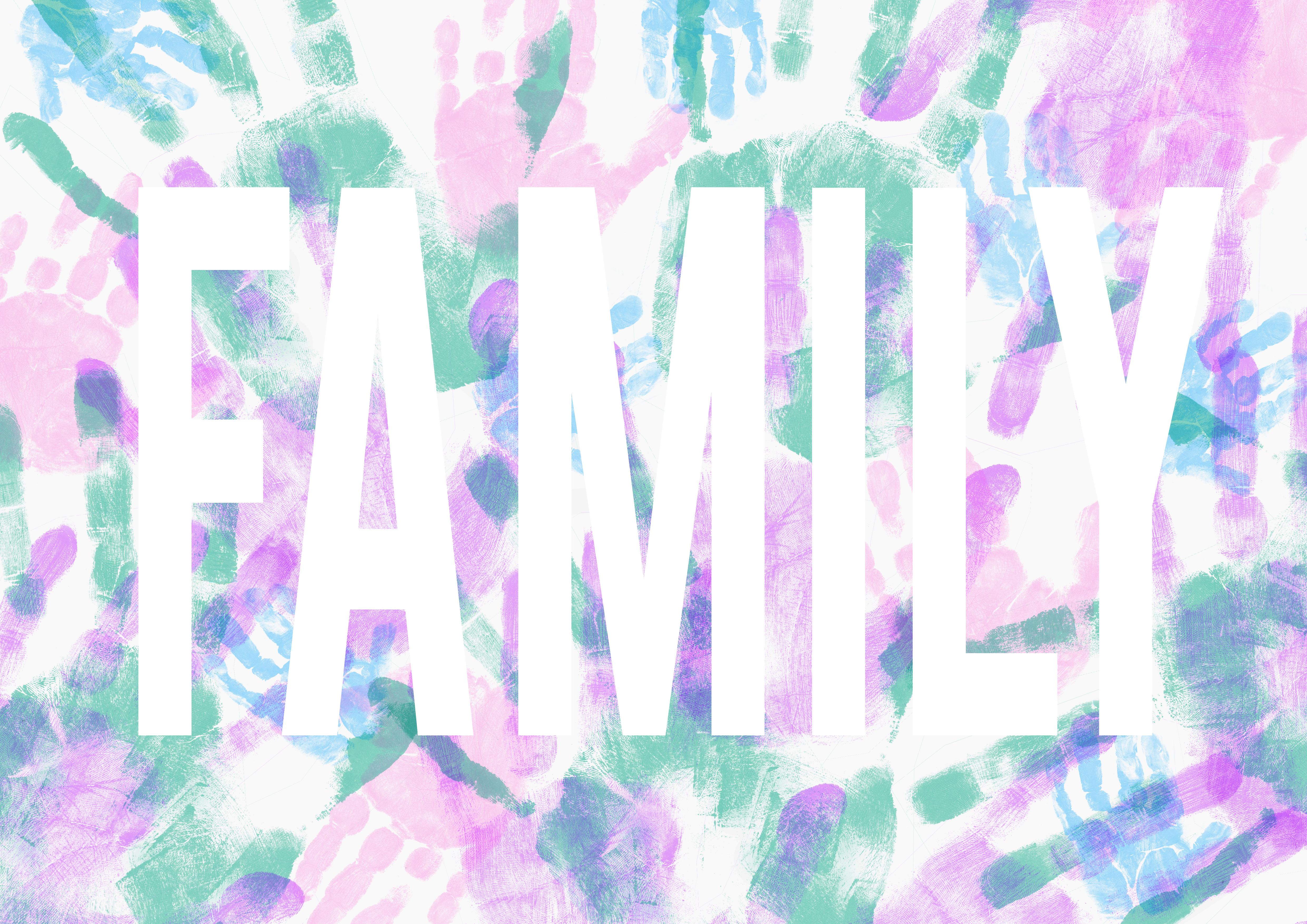 'FAMILY' PRINT