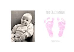 BIRTH ANNOUNCEMENT PRINT