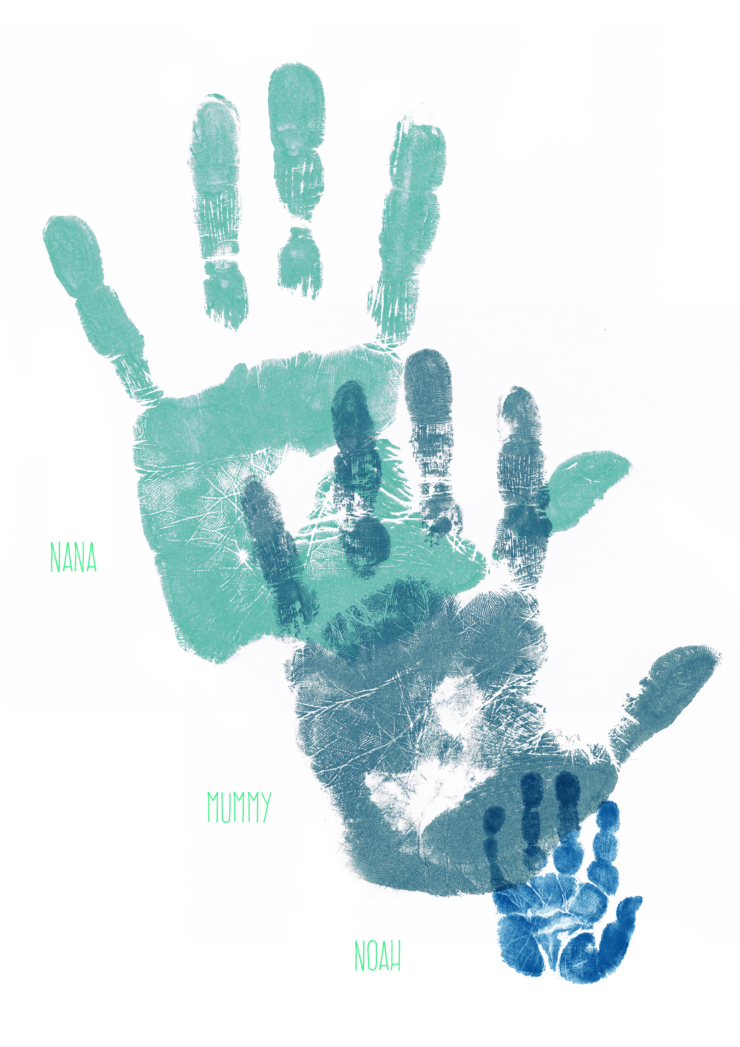 GENERATION PRINT WITH NANA