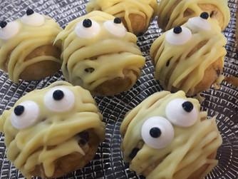 Chocolate Chip Cookie Dough Mummies!