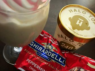 White Chocolate Peppermint Milkshake
