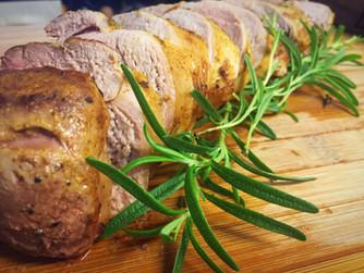 Dijon Rosemary Pork Tenderloin