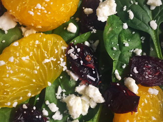 Mandarin and Cranberry Salad