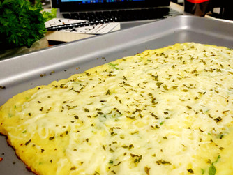 What's Cooking: Cauliflower Breadsticks