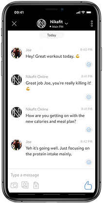 Online Accountability Coach App