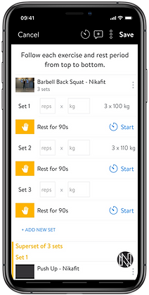 Fitness Trainer On Mobile