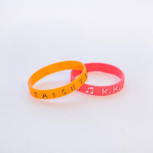 ''TAISETSU''シリコンバンド