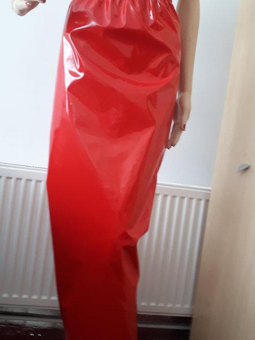 PVC Hobble Skirt