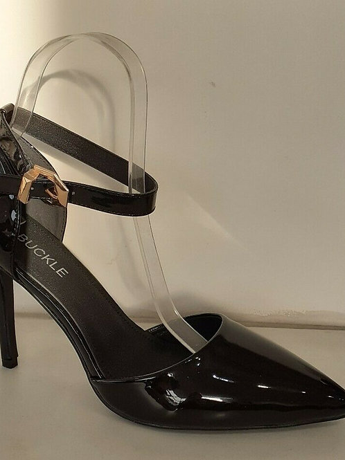 Patent Ankle Strap Shoe BS-221