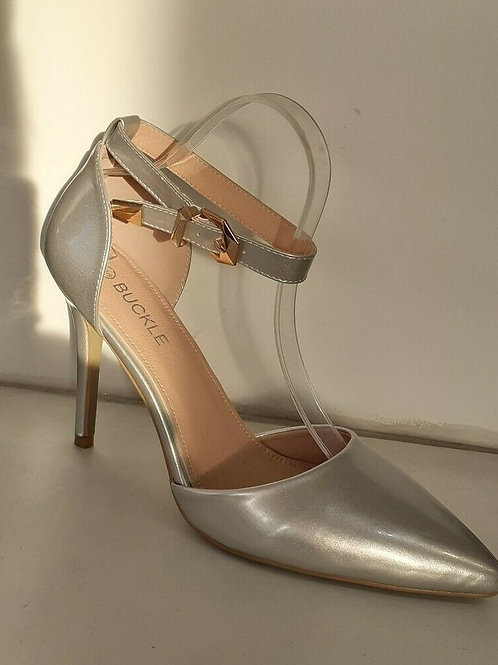 Silver ankle Strap BS-221