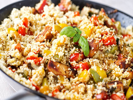 How to make Vegie mixed Couscous