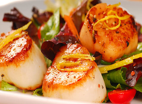 How to make Double Roasted Scallops
