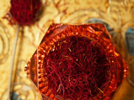 Amazing Saffron power! There are many health benefits attach