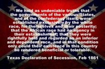 Texas Declaration of Secession
