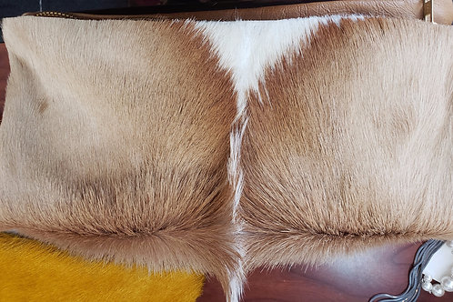 Unique Cow Hide Clutch Handbag
