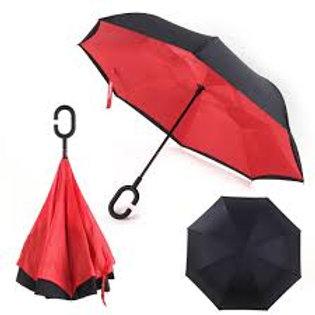 Reverse Close Umbrella
