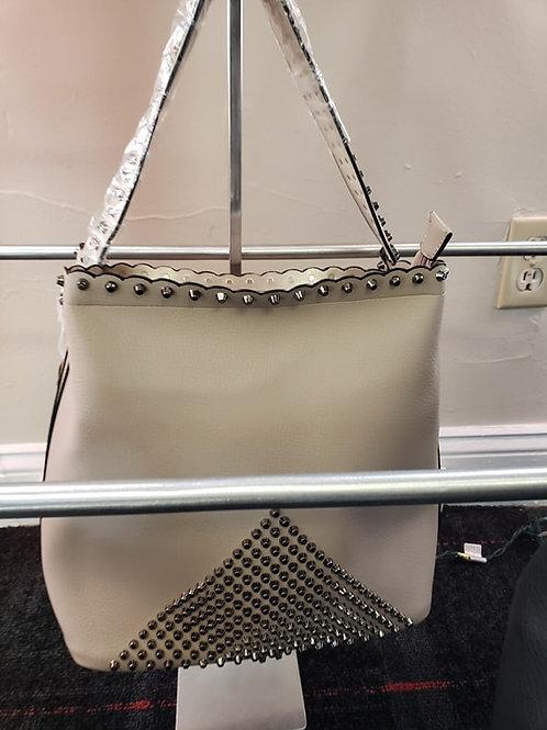 Taupe Soft Leather Handbag