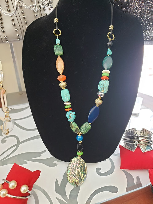 Turquoise Multi Color Necklace