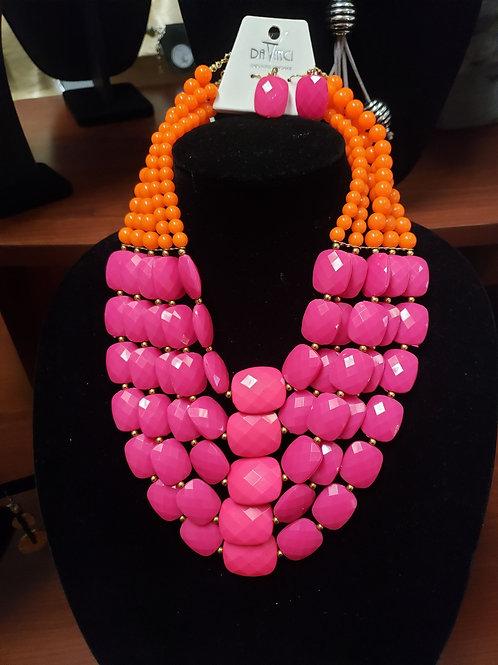 Pink Summer Necklace