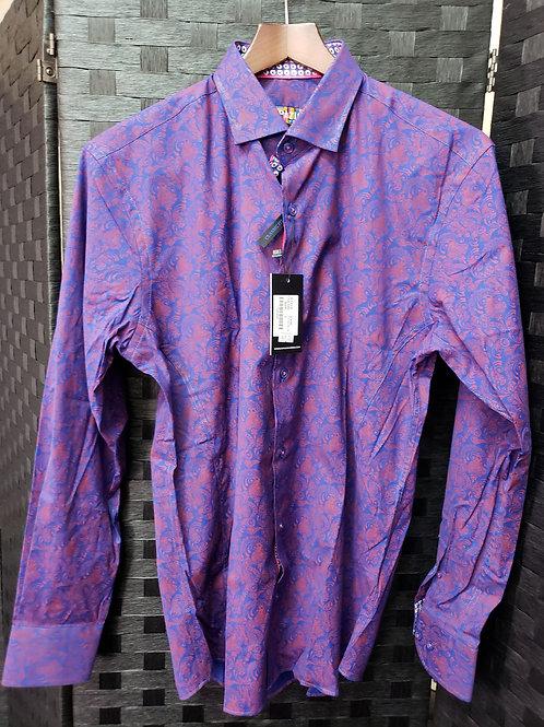 Men's Paisley Woven Shirt