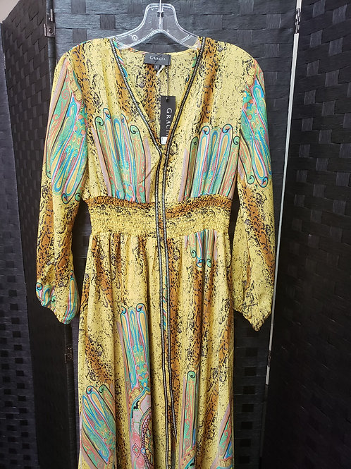 Yellow Vintage Devine Dress