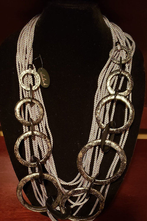 Rope Circle Necklace