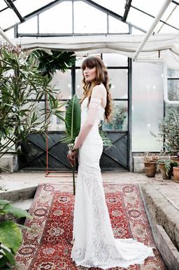 Greenery Bridal Editorial