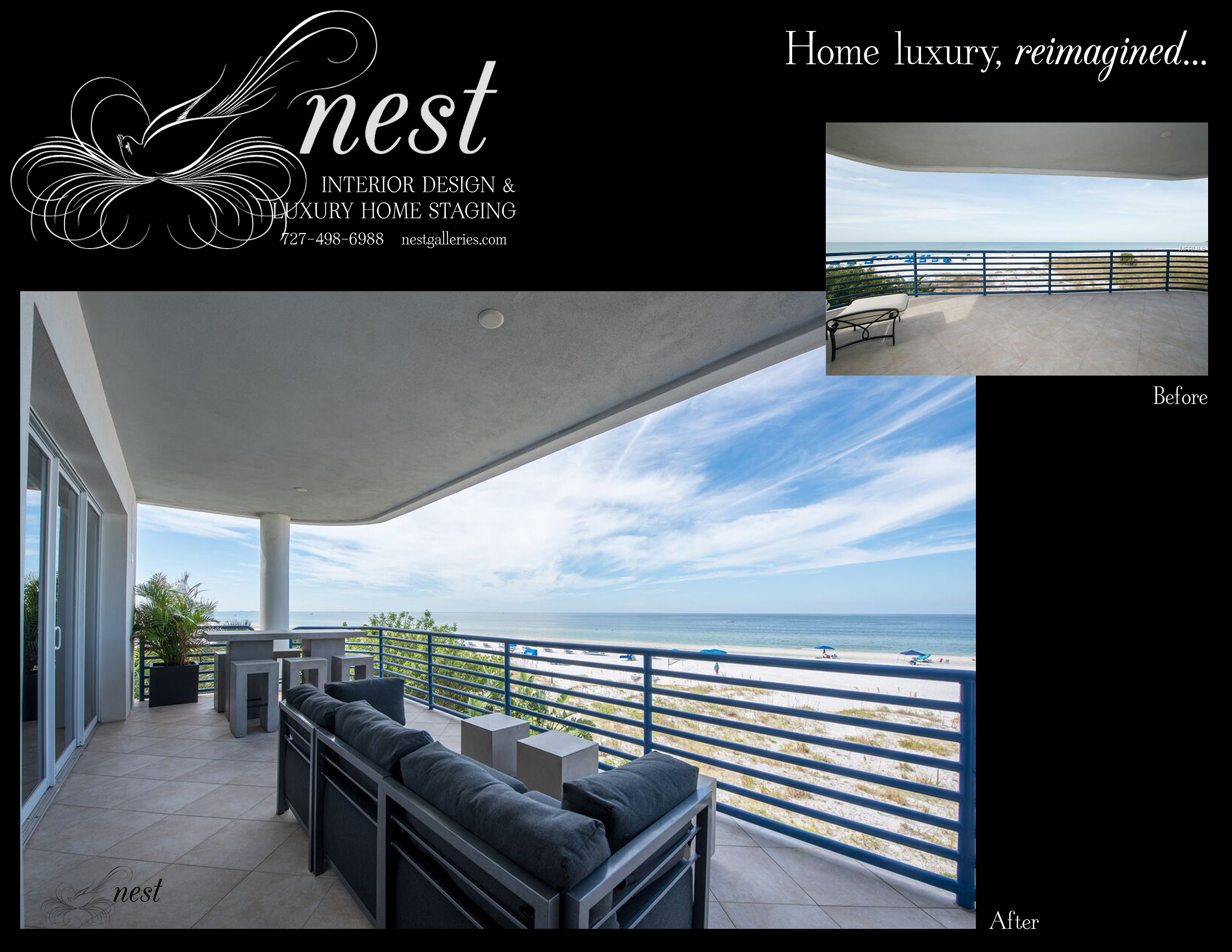 St Pete Beach Balcony B&A