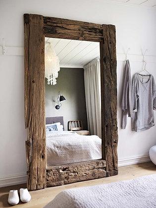 Salvaged Wood Mirror