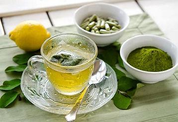 Moringa Tea, Capsules, Powder