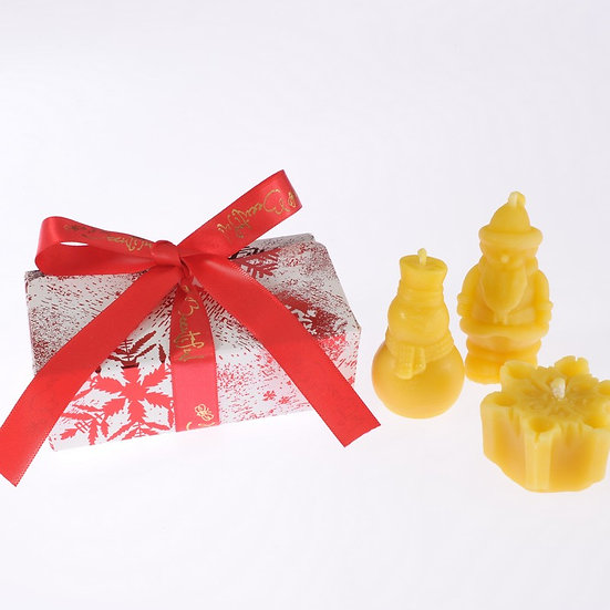 Christmas Candle Gift Box