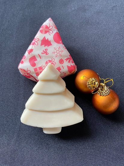 Christmas Tree Honey Soap