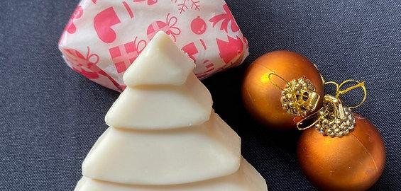 Christmas Tree Honey Soap