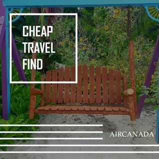 Cheap Travel Find - AirCanada