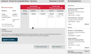 Cheap Flight Find - Spain!