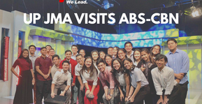 In the Service of the Filipino: UP JMA Visits ABS-CBN