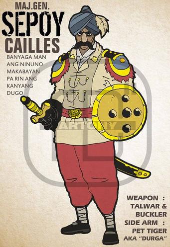 Maj. Gen. Sepoy Cailles