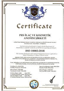 iso 10002- ilaç, kozmetik,dermokozmetik üretim ve satış yetki belgesi