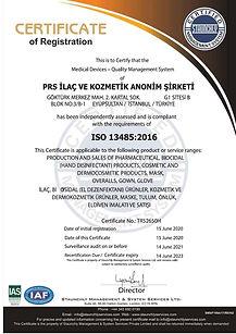 iso 13485- ilaç, kozmetik,dermokozmetik üretim ve satış yetki belgesi