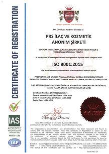 iso 9001- ilaç, kozmetik,dermokozmetik üretim ve satış yetki belgesi