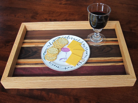 Hardwood Serving Tray