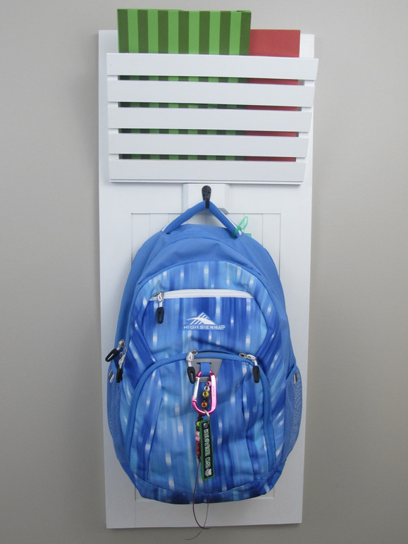 Mudroom Backpack Organizer