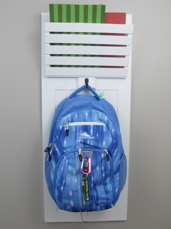 Mudroom Backpack Organizer