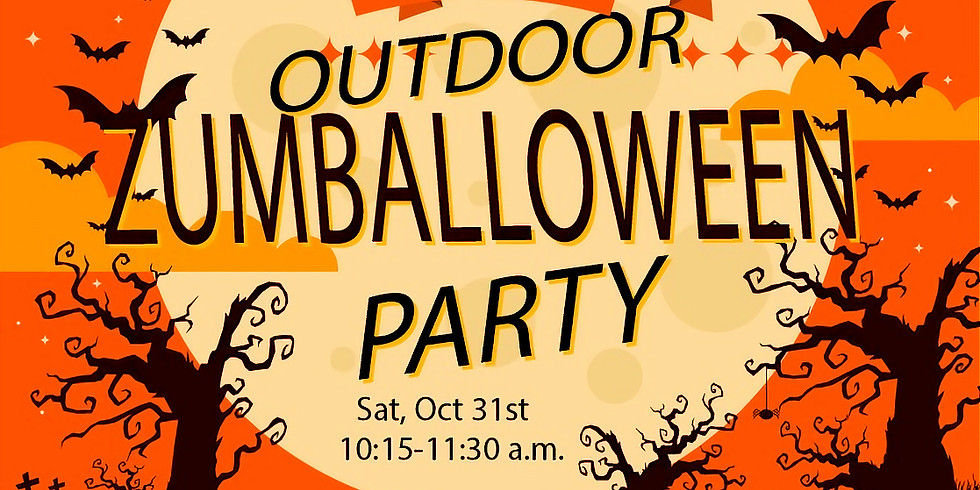 Zumballoween Party at Island Time!
