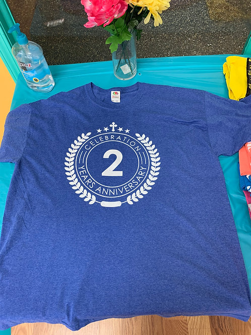 Limited Edition 2-Y Anniversary Shirt Blue
