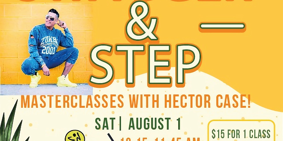 Zumba Step Masterclass With Hector Case