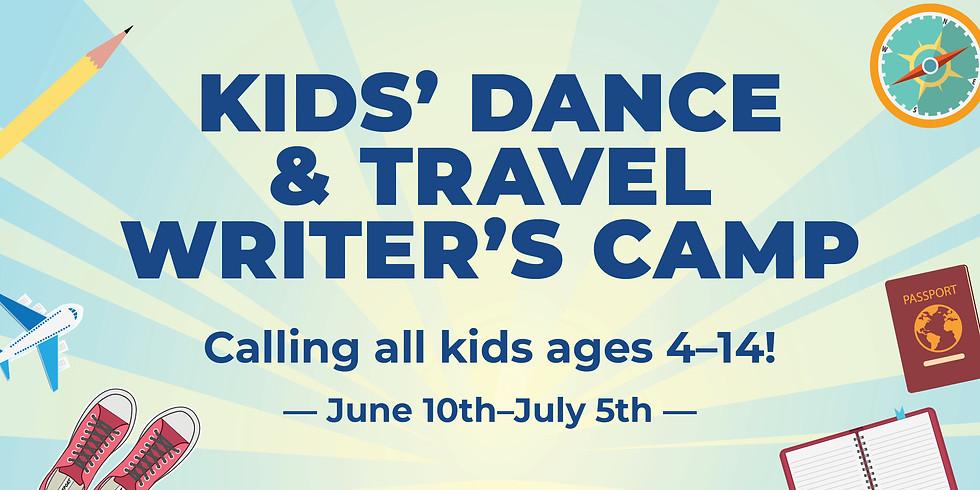 Zumba Kids Dance + Travel Writer's Camp (ages 4-6)