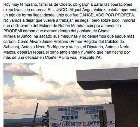 Denuncia Minera El Junco 8 de agosto_edi
