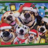 Puzzle Christmas Puppies