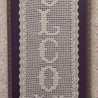 Crocheted Welcome Framed